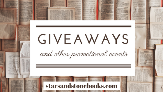 Giveaways & Promo for Stars and Stone Books