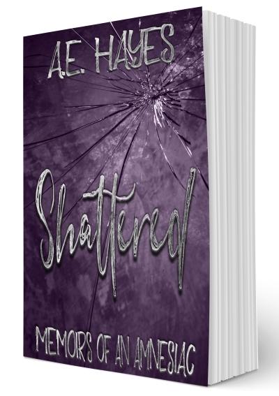 Shattered 3D Book